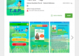 Mobile App for Talk SC - T.A.P.