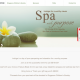 Website for Spa for Hope - thumbnail